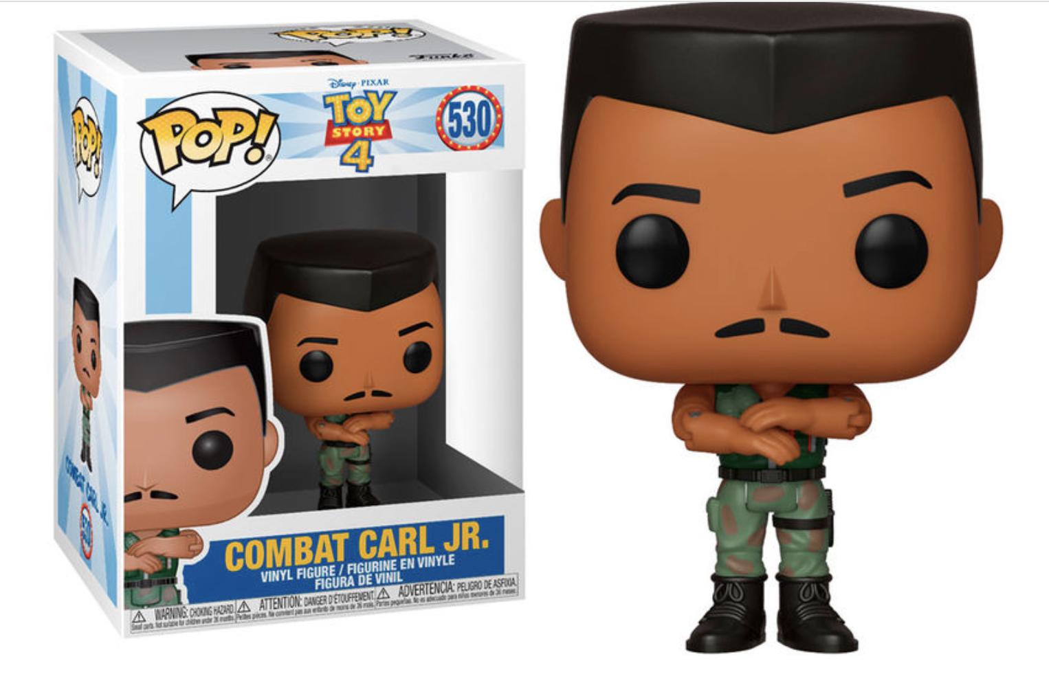 Toy Story 4 - Bobble Head Funko Pop N° 530 : Combat Carl Jr.