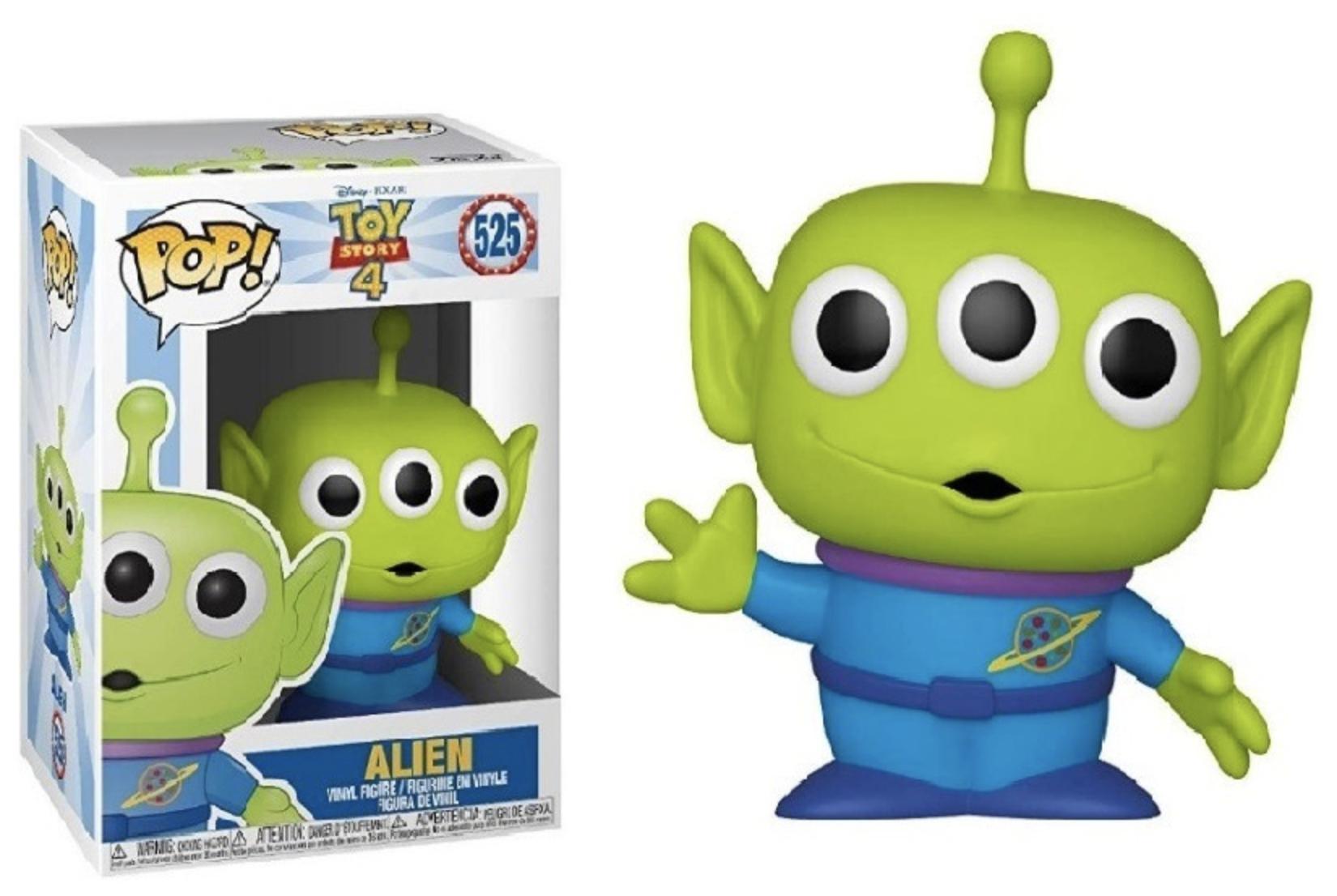 Toy Story 4 - Bobble Head Funko Pop N° 525 : Alien