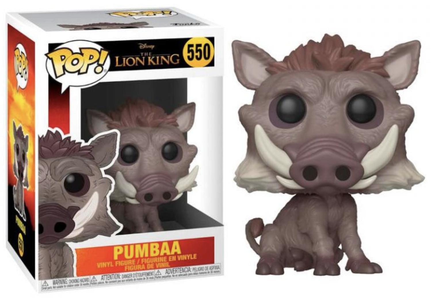 Le roi lion - Bobble Head Funko Pop N° 550 : Pumba