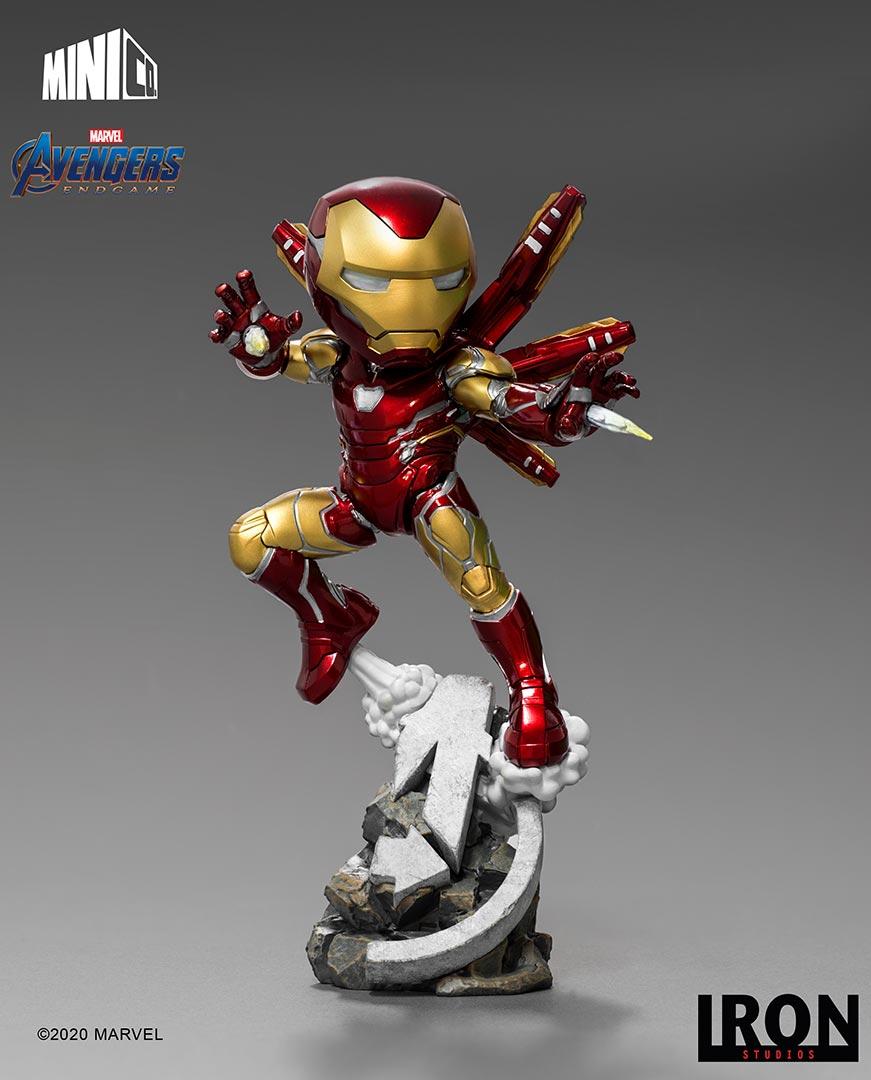 Marvel - Avengers Endgame : Figurine Iron Man MiniCo