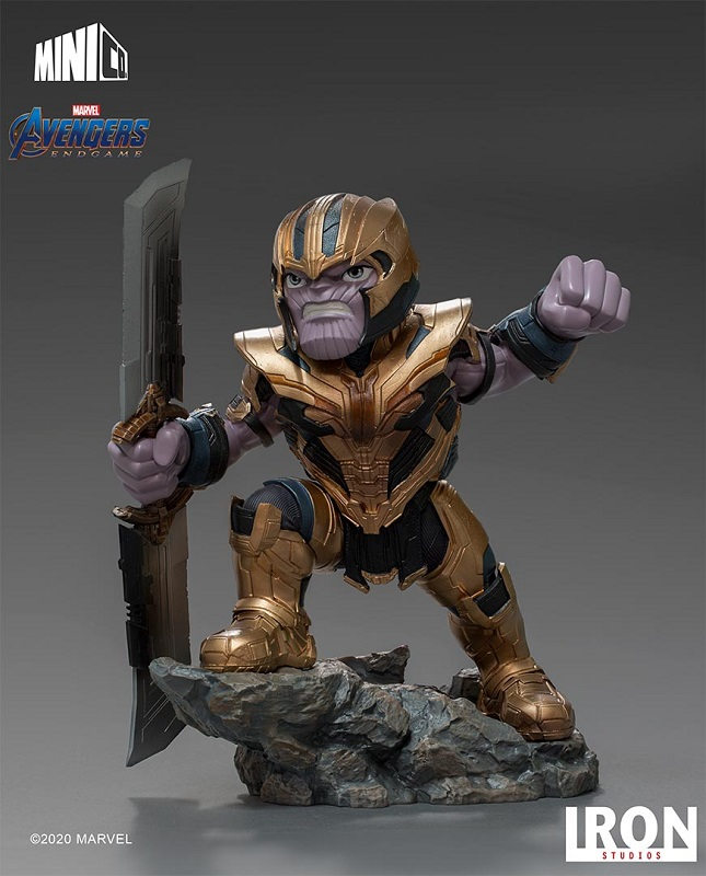 Marvel - Avengers Endgame : Figurine Thanos MiniCo