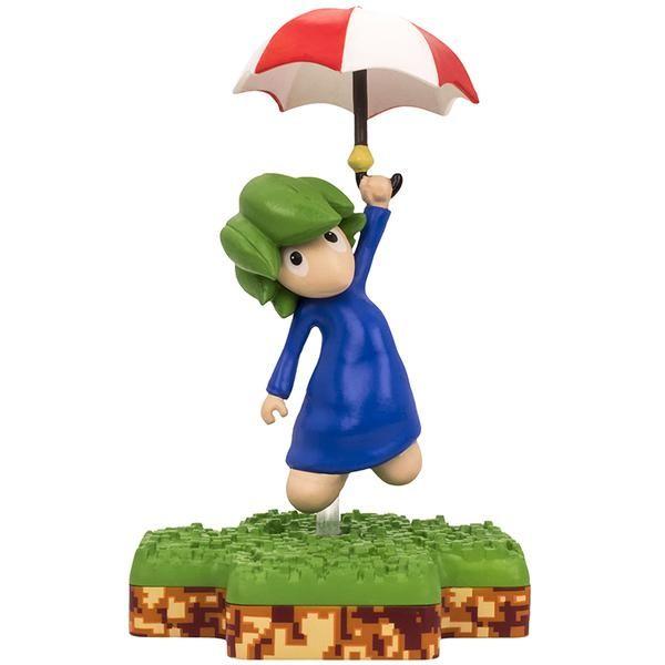Totaku N°17 - Lemmings : Figurine Umbrella Lemming