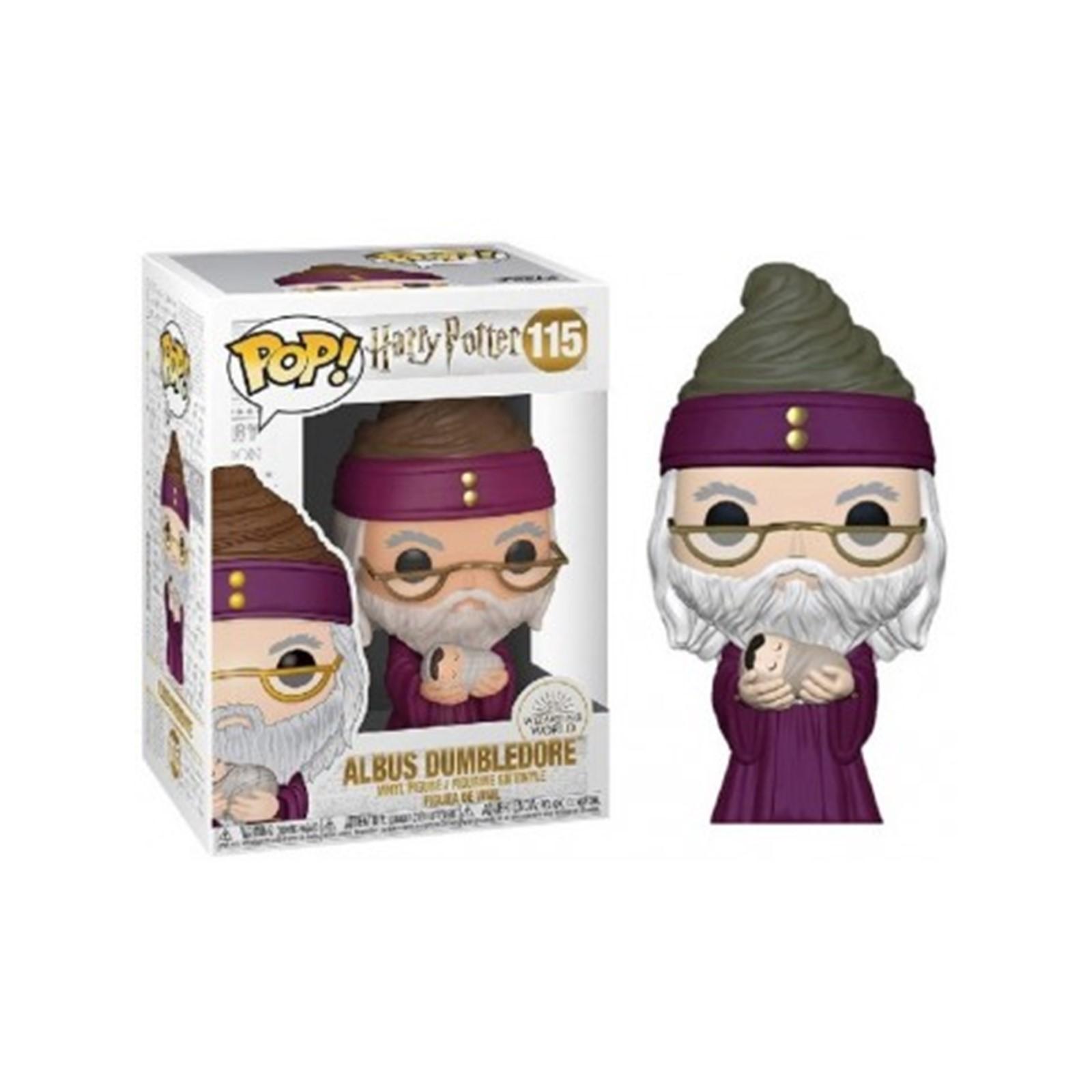Harry Potter - Bobble Head Funko Pop N° 115 : Albus Dumbledore