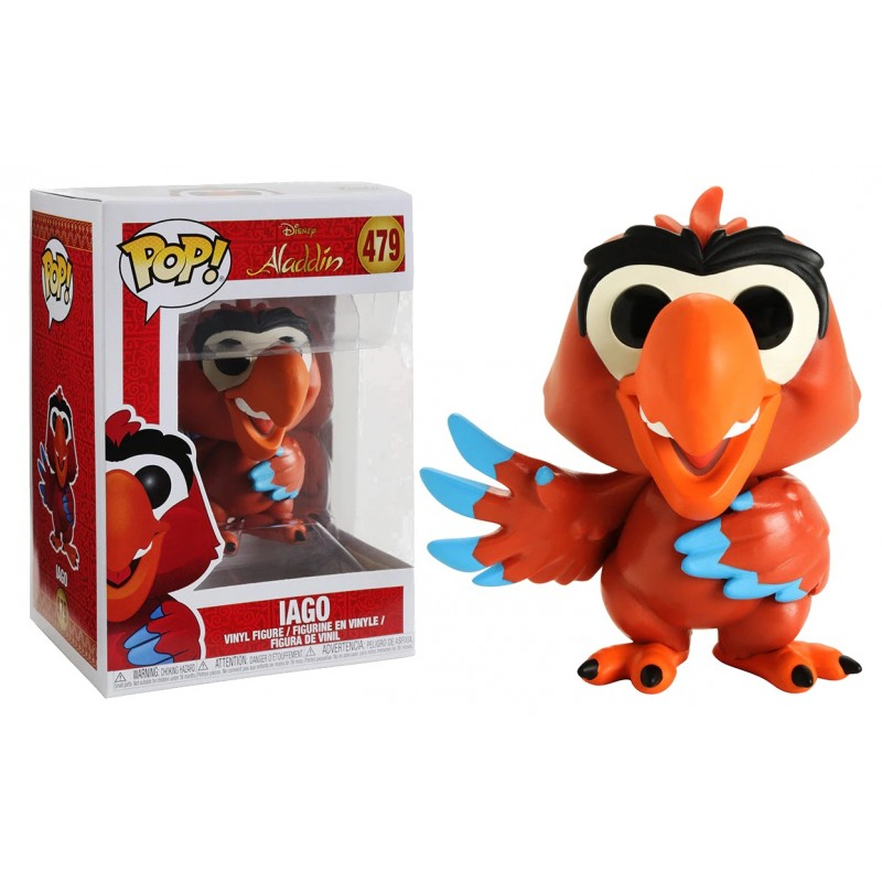Aladdin - Bobble Head Funko Pop N° 479 : Iago
