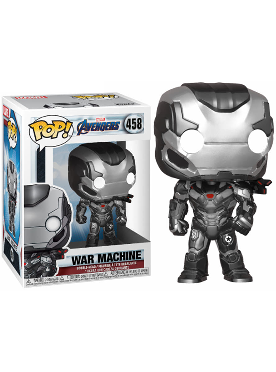 Avengers - Bobble Head Funko Pop N° 458 : War Machine