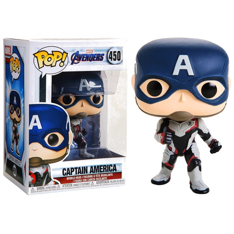 Avengers - Bobble Head Funko Pop N° 450 : Captain America