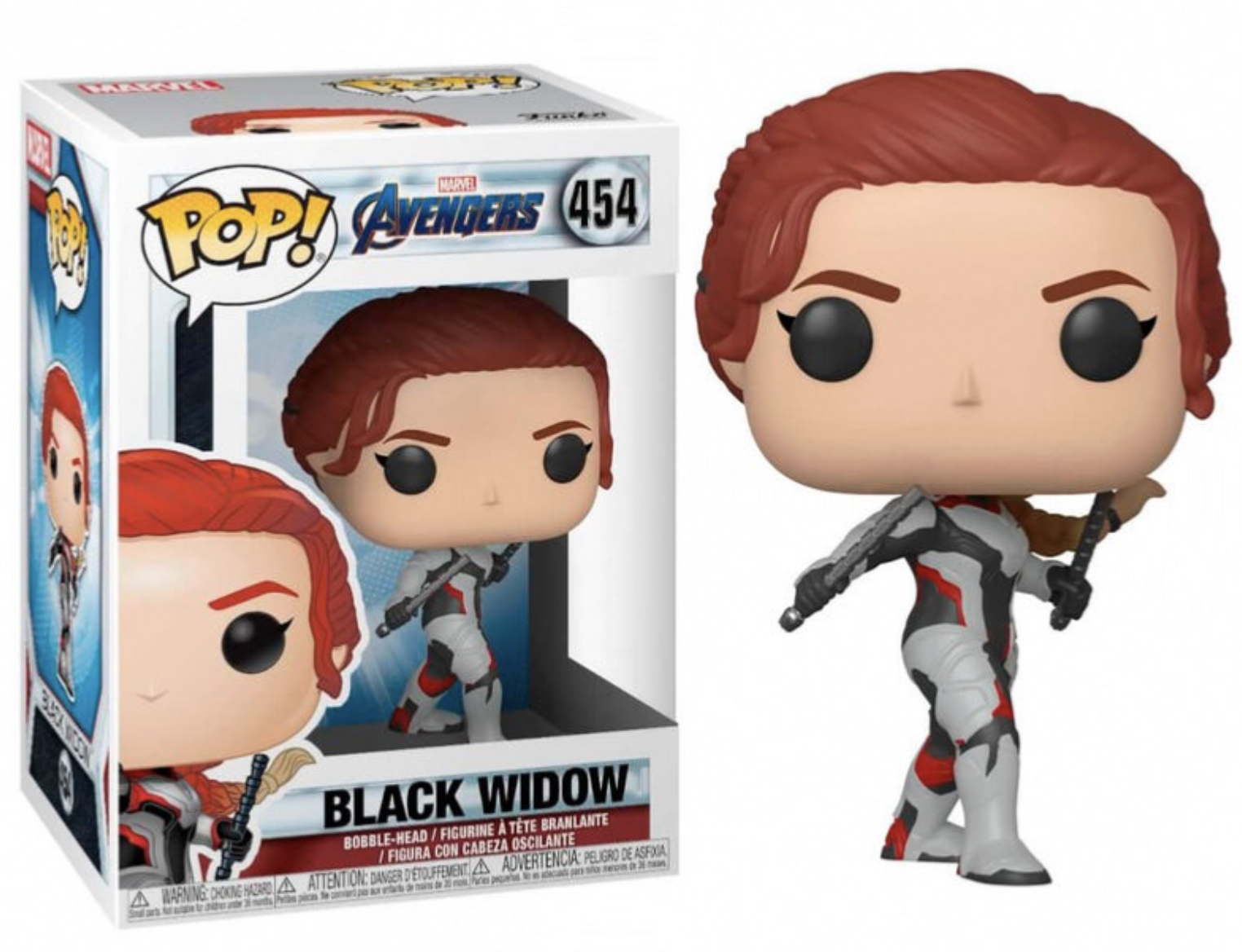 Avengers - Bobble Head Funko Pop N° 454 : Black Widow