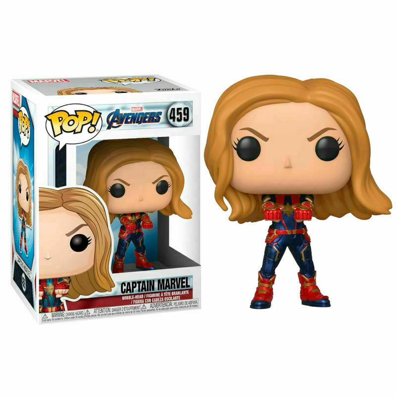 Avengers - Bobble Head Funko Pop N° 459 : Captain Marvel