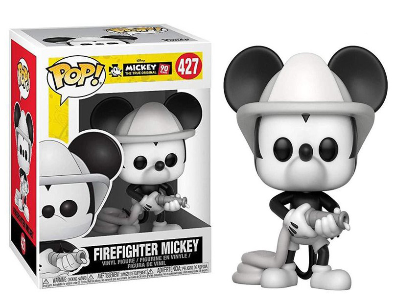 Mickey 90 years - Bobble Head Funko Pop N° 427 : Firefighter Mickey