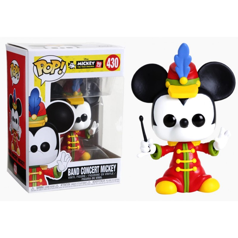 Mickey 90 years - Bobble Head Funko Pop N° 430 : Band Concert Mickey
