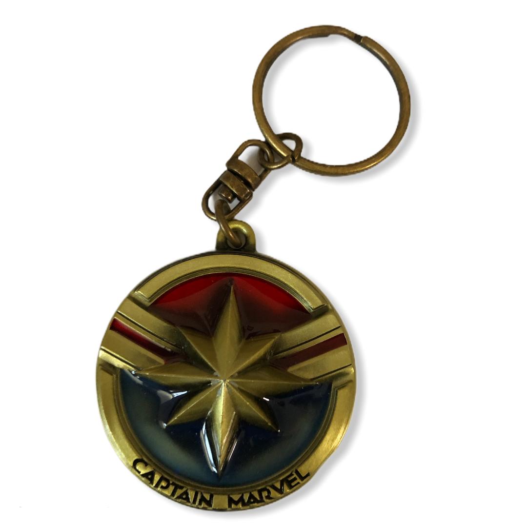 Marvel - Captain Marvel : Porte-clé logo Captain Marvel