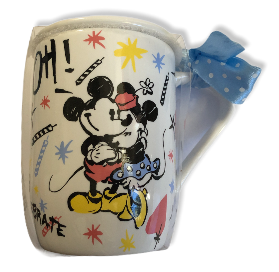 Mickey Mouse - Forever Mickey & Minnie : Mug with lid/coaster