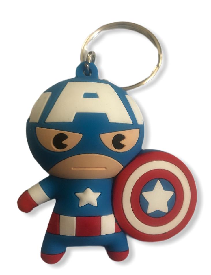 Marvel - Avengers : Porte-clé Captain America SPVC