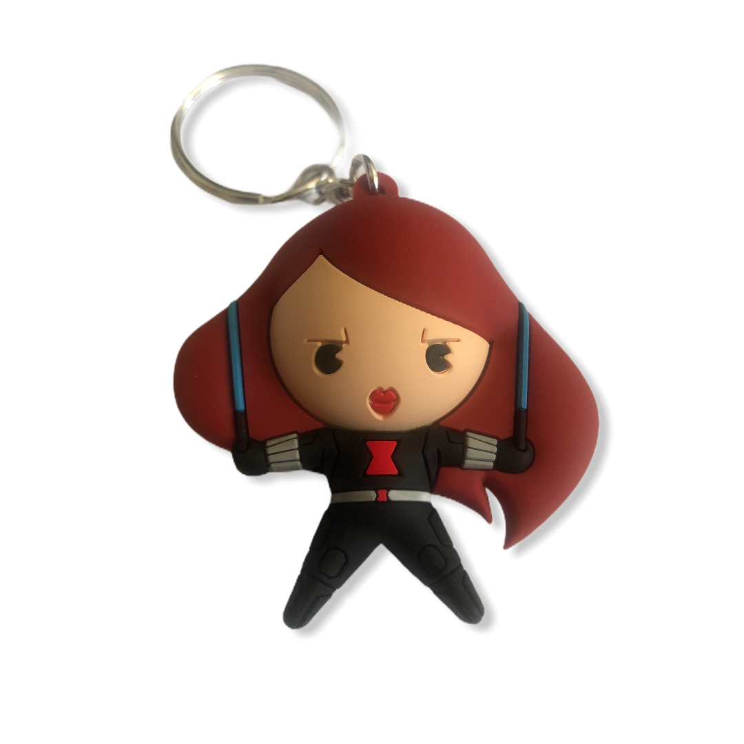 Marvel - Avengers : Porte-clé Black Widow SPVC