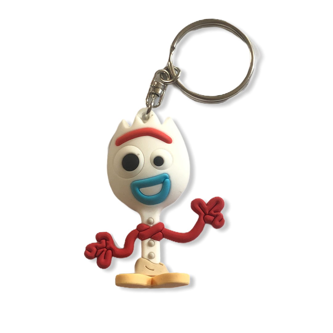 Disney - Toy Story 4 : Porte-clé Forky SPVC