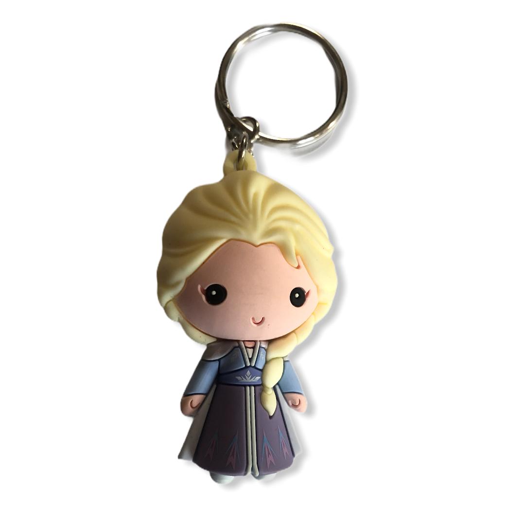Disney - La reine des neiges 2 : Porte clé Elsa SPVC « Frozen 2 »