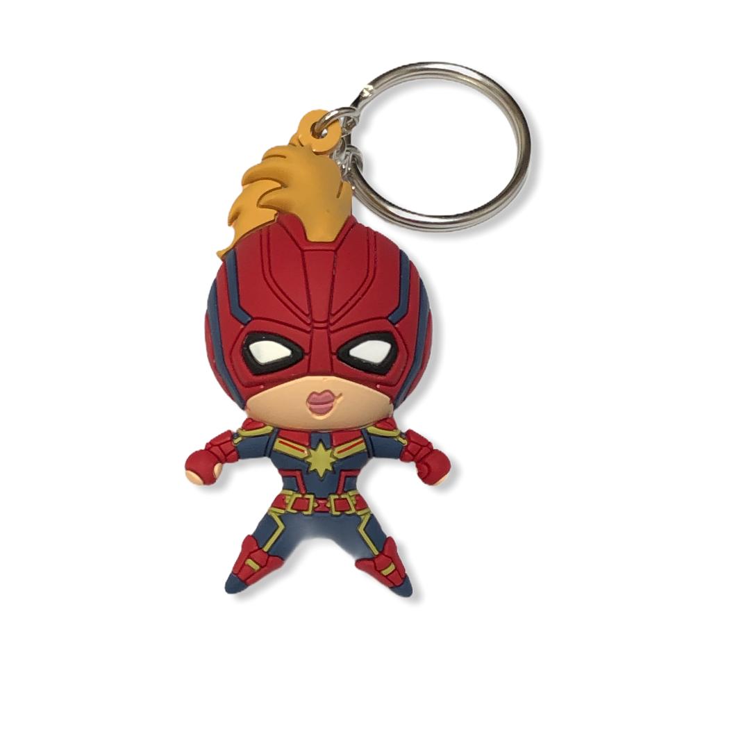 Marvel - Avengers : Porte-clé Captain Marvel SPVC
