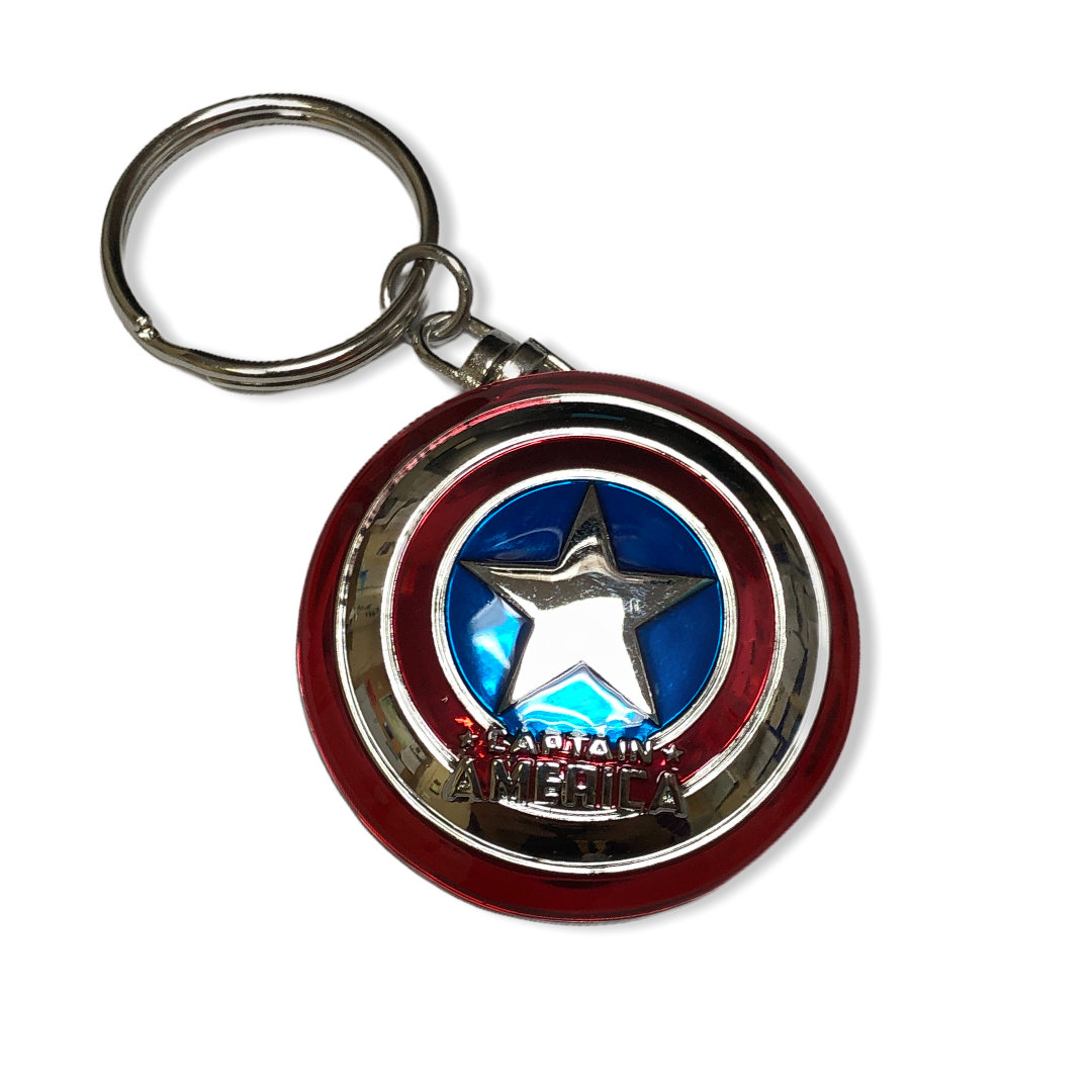 Marvel - Captain America : Porte-clé bouclier