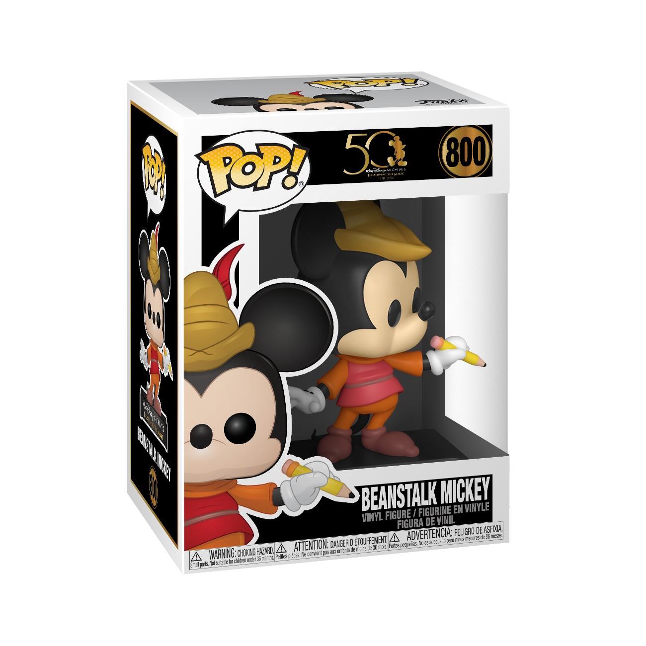 Disney Archives - Bobble Head Funko Pop N°800 : Beanstalk Mickey