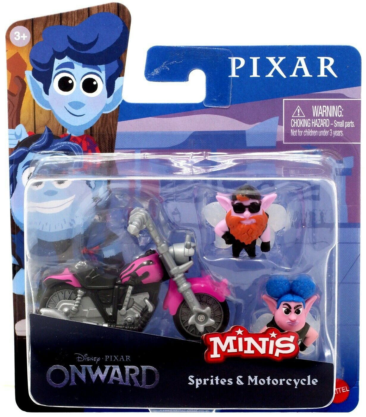 Disney Pixar - Minis Vinyl Figures : Elfes et Moto