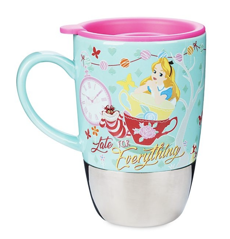 Disney - Alice au pays des merveilles : Mug thermo Alice