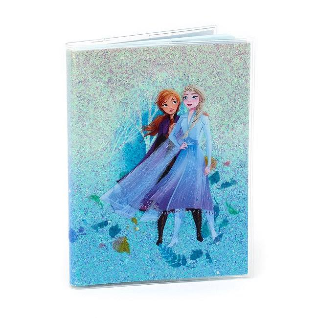 Disney - La reine des neiges : Carnets A5 Elsa et Anna