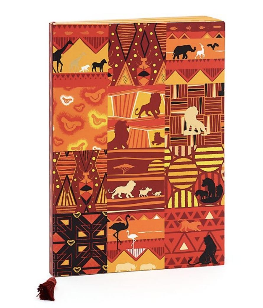 Disney - Le roi lion : Cahier A4 motif