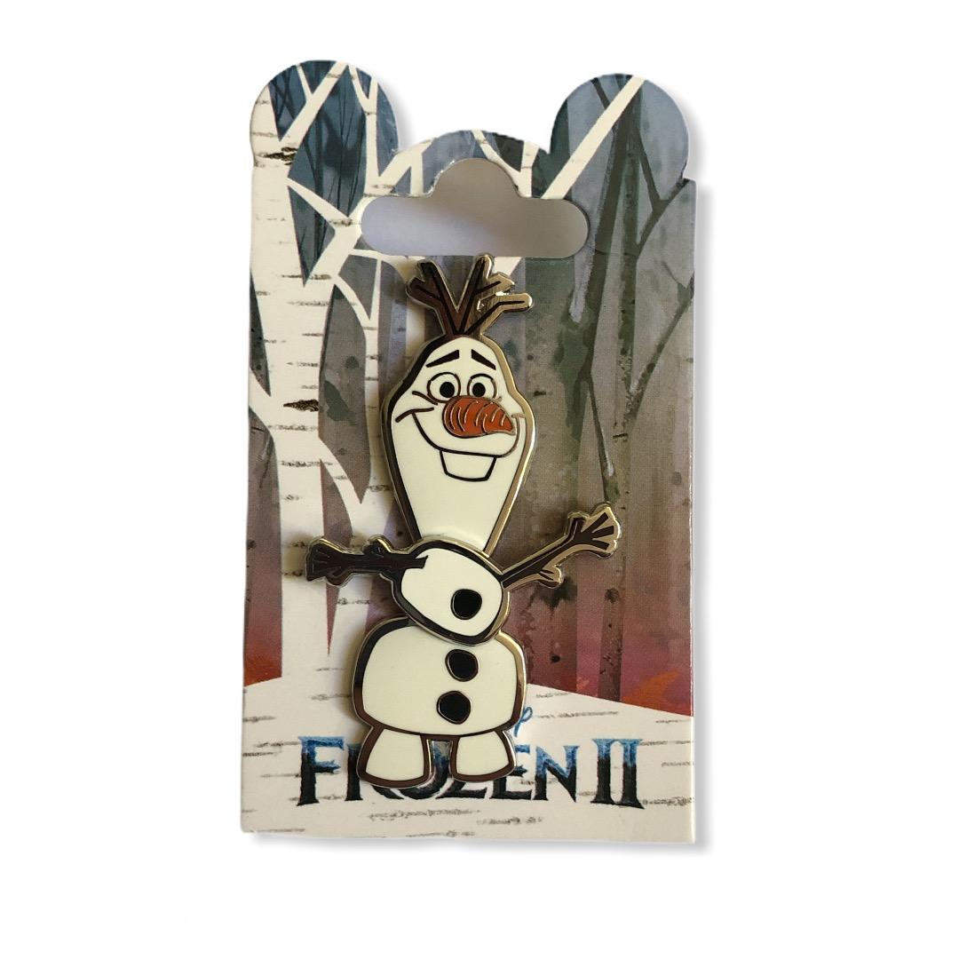 Disney - LA REINE DES NEIGE 2 - Pin\'s Olaf spinner OE