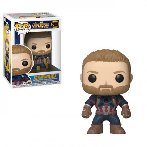 Marvel - Avengers Infinity War Funko POP N° 288 - Captain América