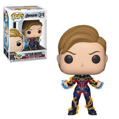 Marvel Avengers Endgame - Funko POP N° 576 : Captain Marvel