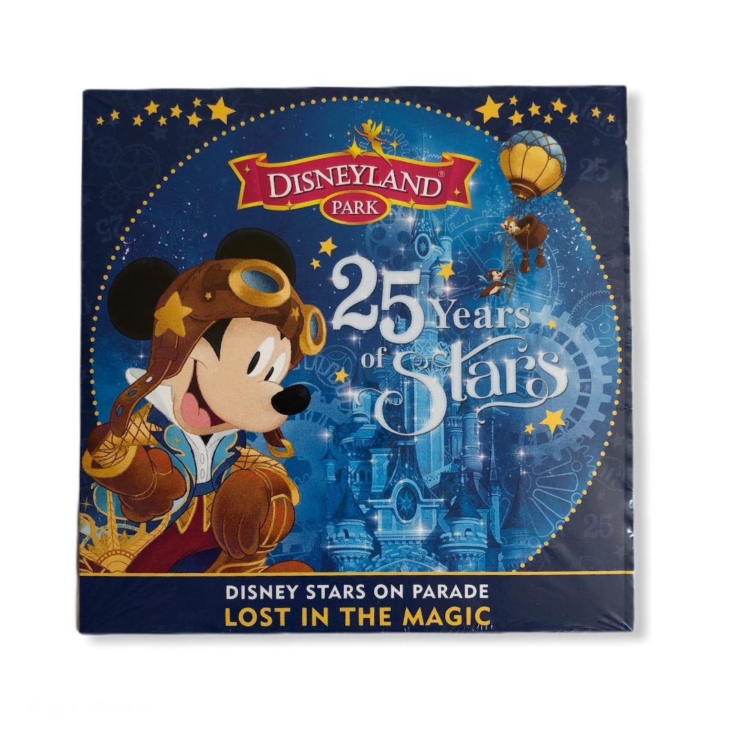 Disney - Disneyland Paris : Cd Disney Stars on parade : Lost in the magic 25th anniversary