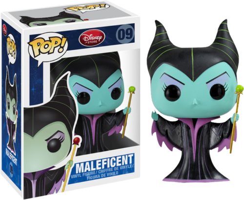 Disney - Bobble Head Funko Pop N° 09 : Maleficient