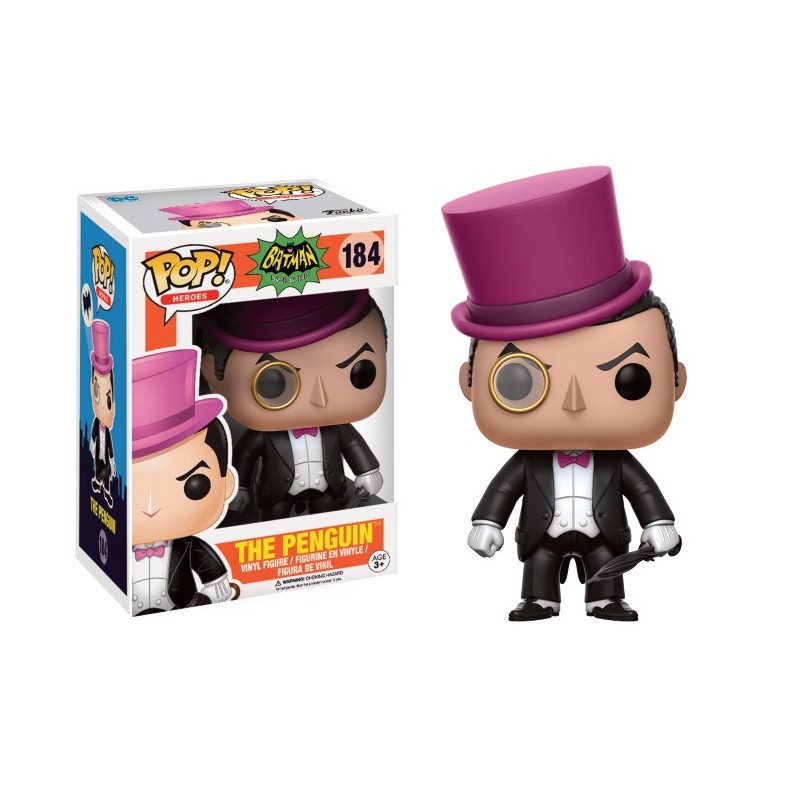 Batman - Bobble Head Funko Pop N°184 : The Penguin