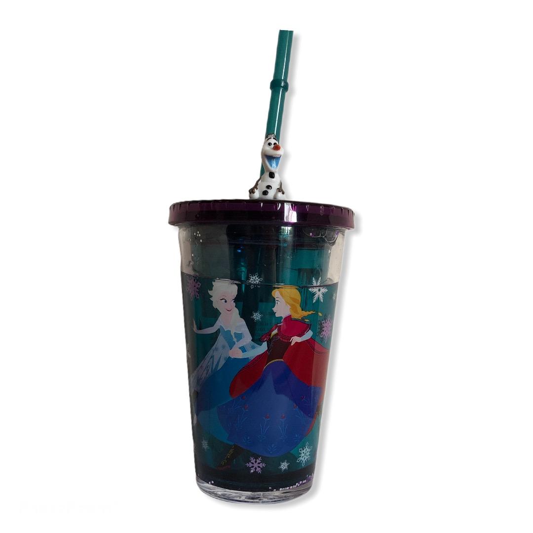 Disney - La reine des neiges 2 : Gobelet paille