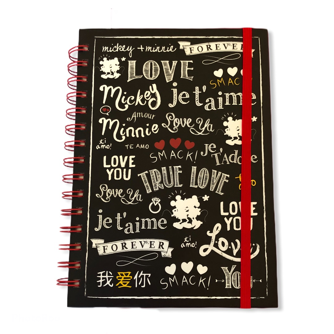 Disney - Mickey Mouse : Carnets A5 Mickey et Minnie Love