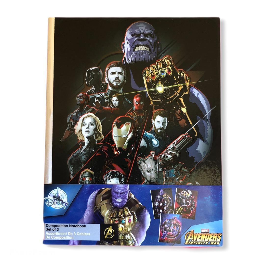 Marvel - Avengers Infinity War : Set de 3 Carnets