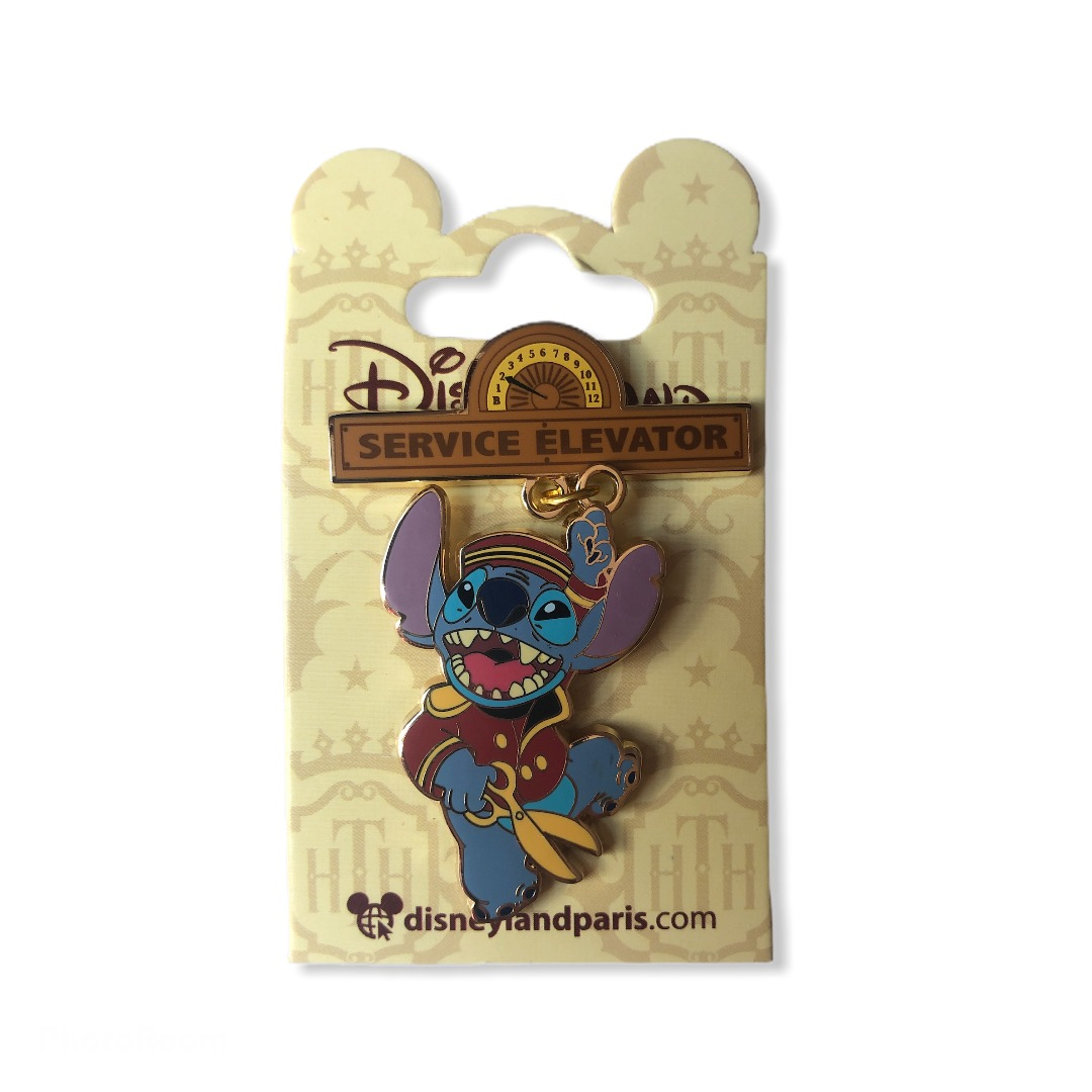 Disney - THE HOLLYWOOD TOWER HOTEL : Pin\'s Stitch HTH OE