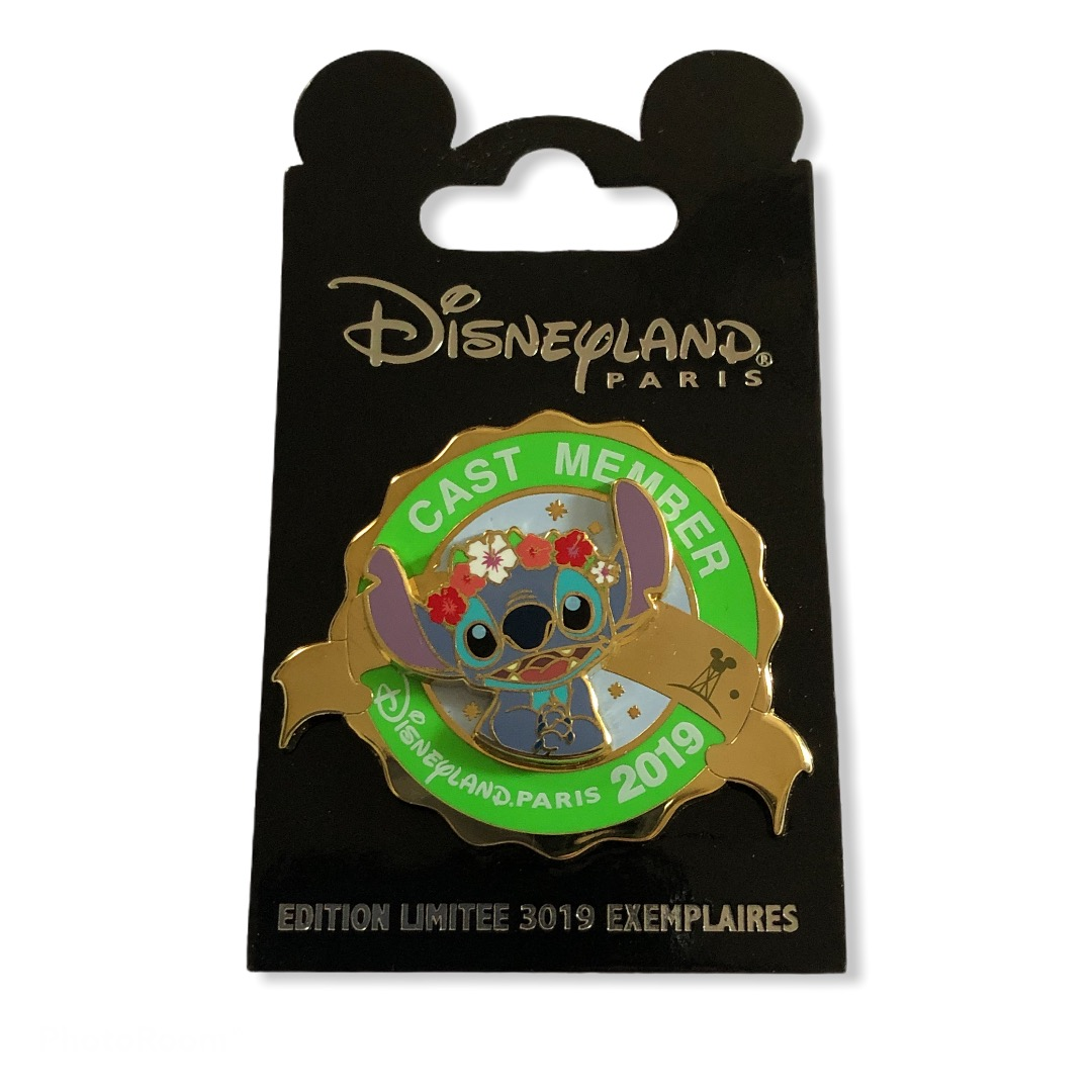 Disney - Lilo et Stitch : Pin's Cast Member Printemps 2019 EL