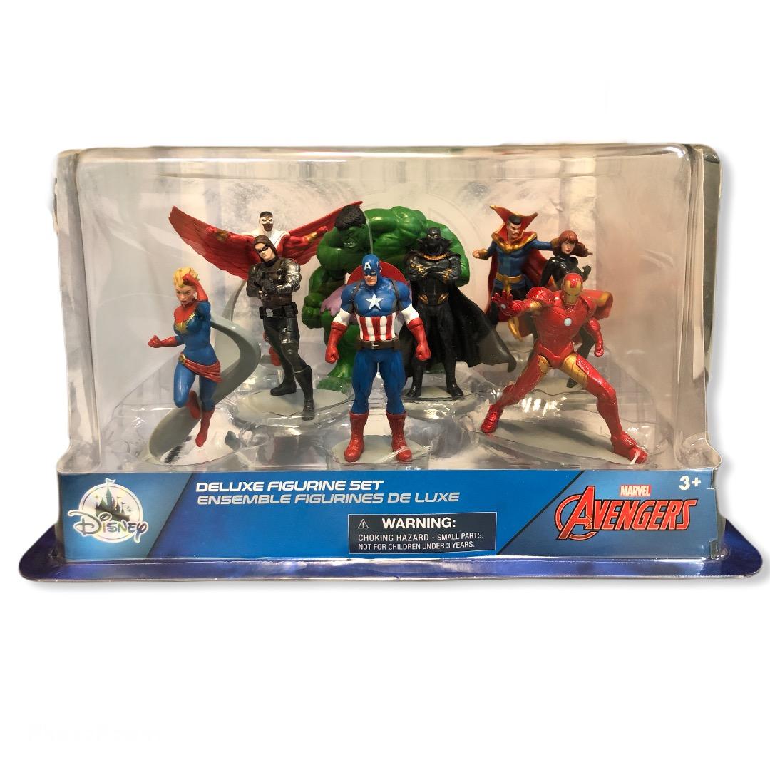 Marvel - Avengers : Ensemble de figurine deluxe