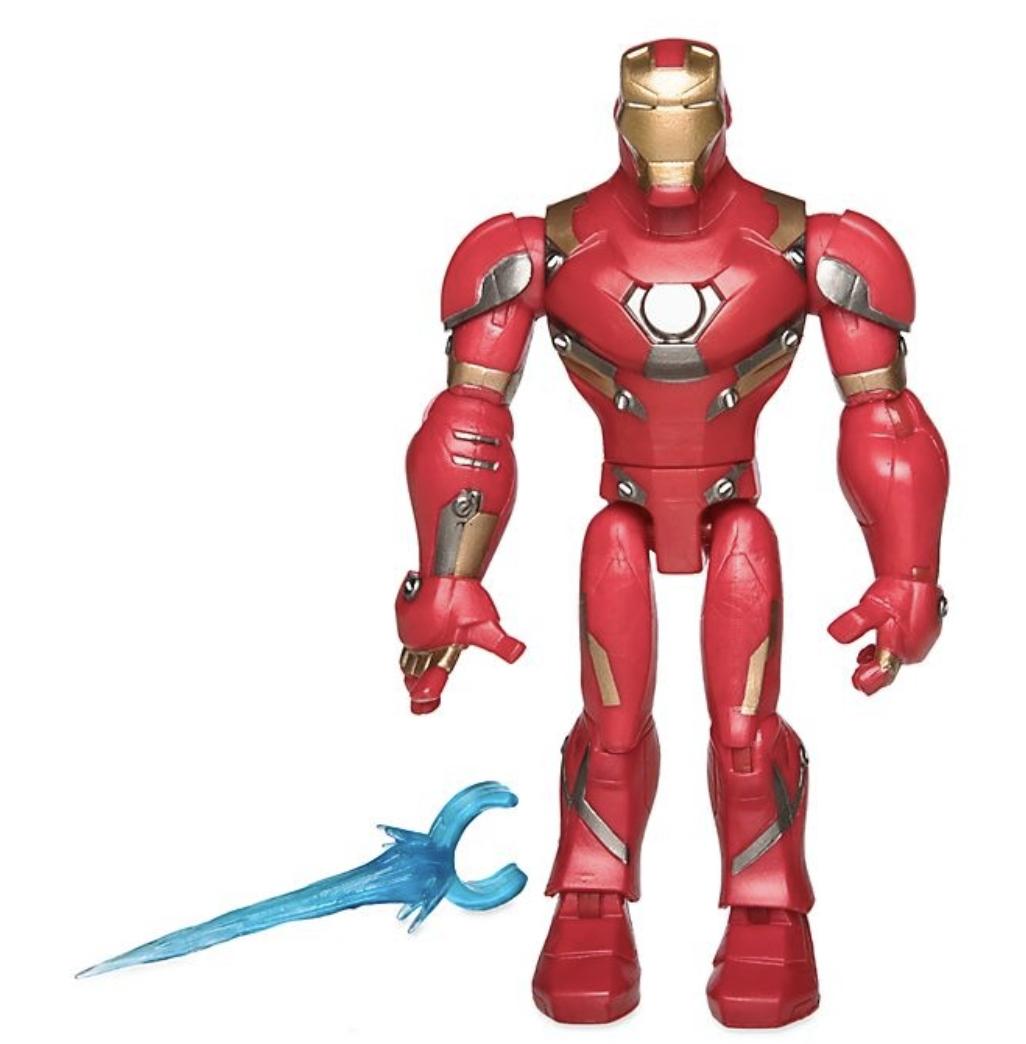 Marvel - Toy Box : Figurine articulée Iron Man