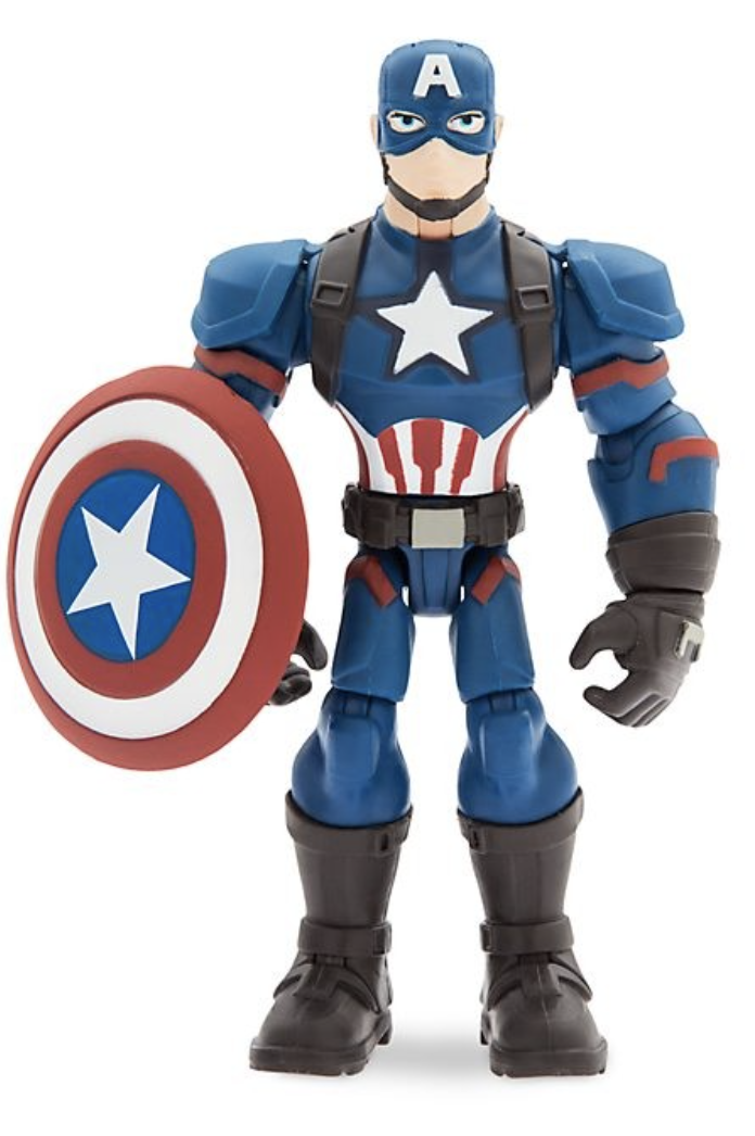 Marvel - Toy Box : Figurine articulée Captain America