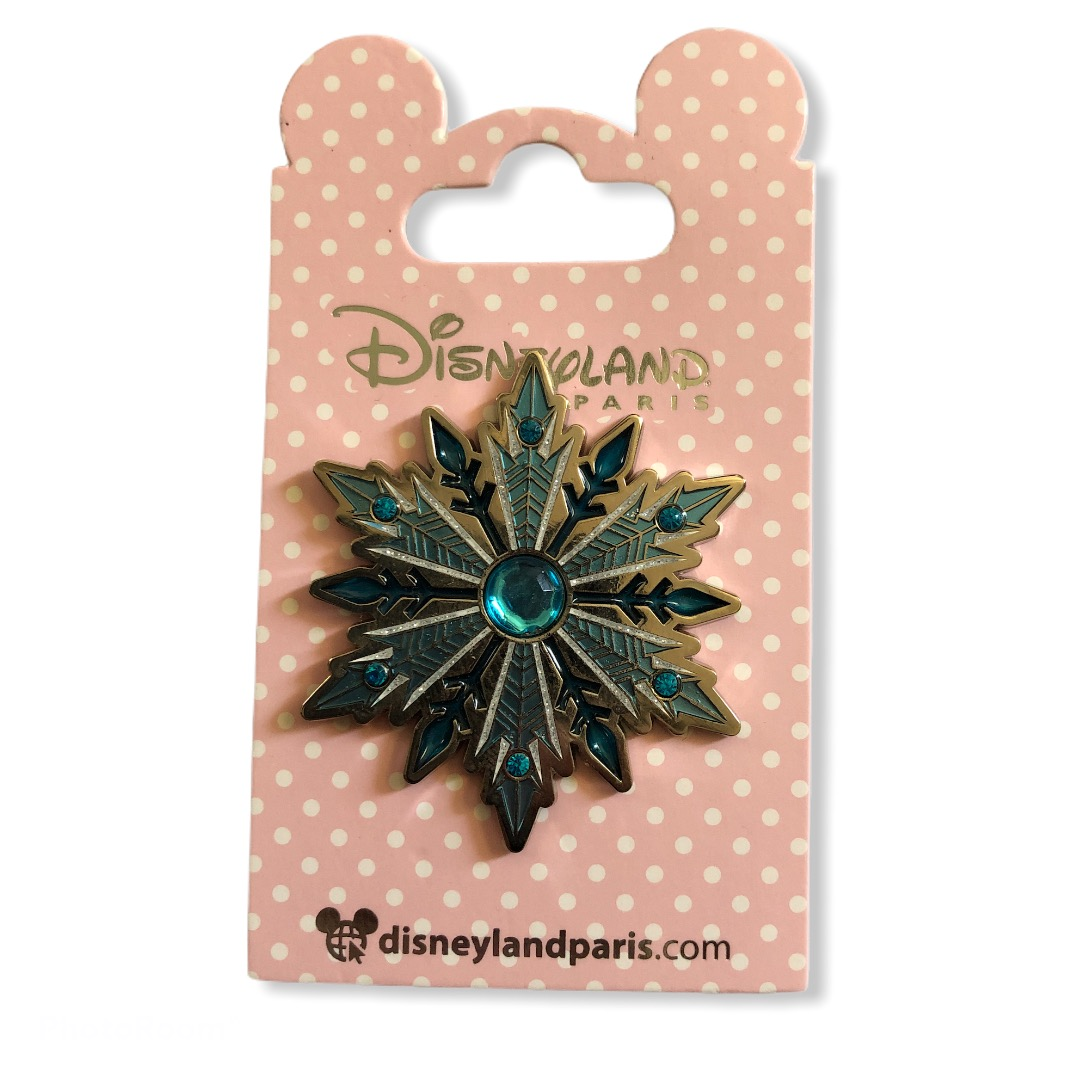 Disney - La reine des neiges : Pin's bijou flocon Elsa OE