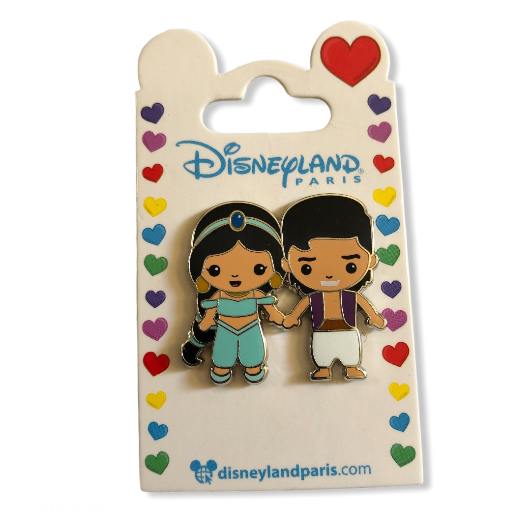 Disney - Aladdin - Pin\'s couple Jasmine & Aladdin OE