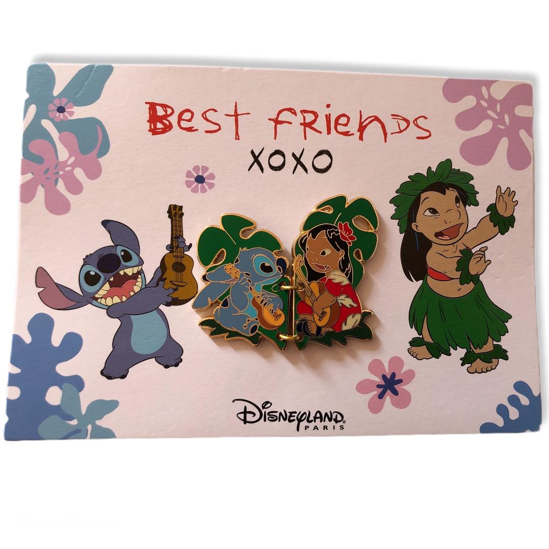 Disney - LILO ET STITCH : Pin\'s CP Best Friends OE