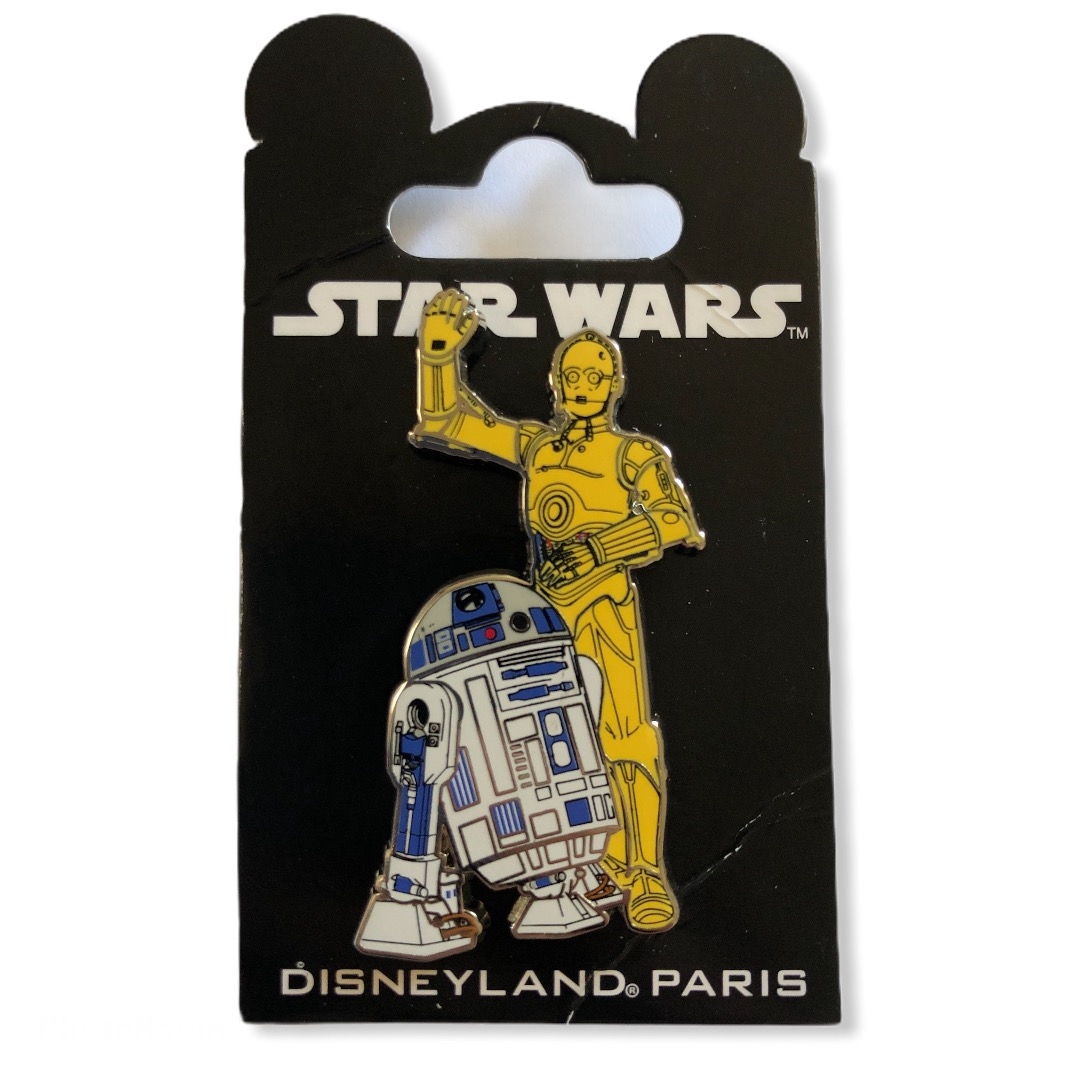Star Wars : Pin\'s SW R2D2 & C3PO OE
