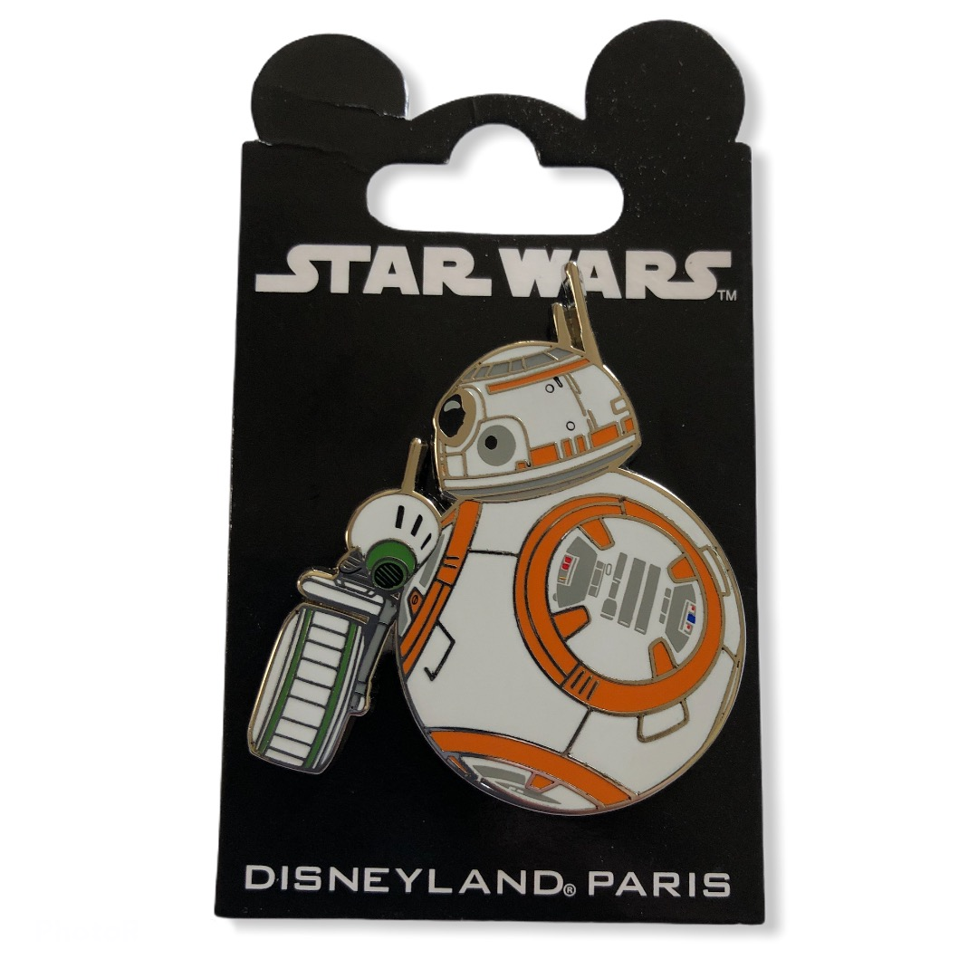 Star Wars : Pin\'s SW BB8 & DO OE