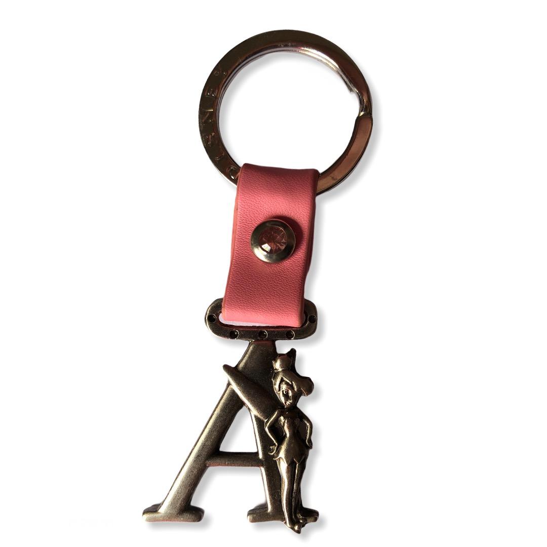 Disney - Clochette : Porte-clé lettre A