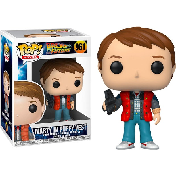 Back to the Futur -  Funko POP N° 961 - Marty in puffy vest