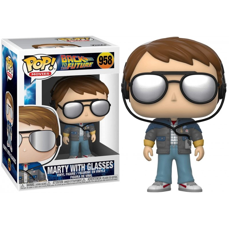 Back to the Futur - Funko POP N° 958 - Marty with glass