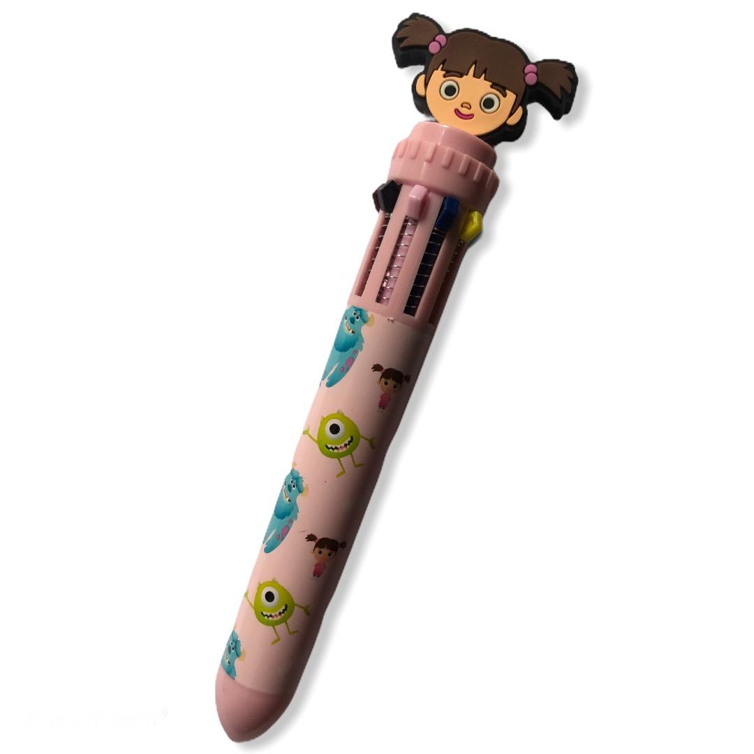 Pixar - Monstres et cie : Crayon 10 couleurs Boo